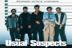 The Usual Suspects movie, screenplay