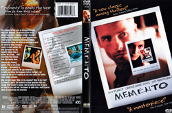 Memento film, screenplay by christopher nolan