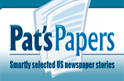 Pat's Papers news headlines