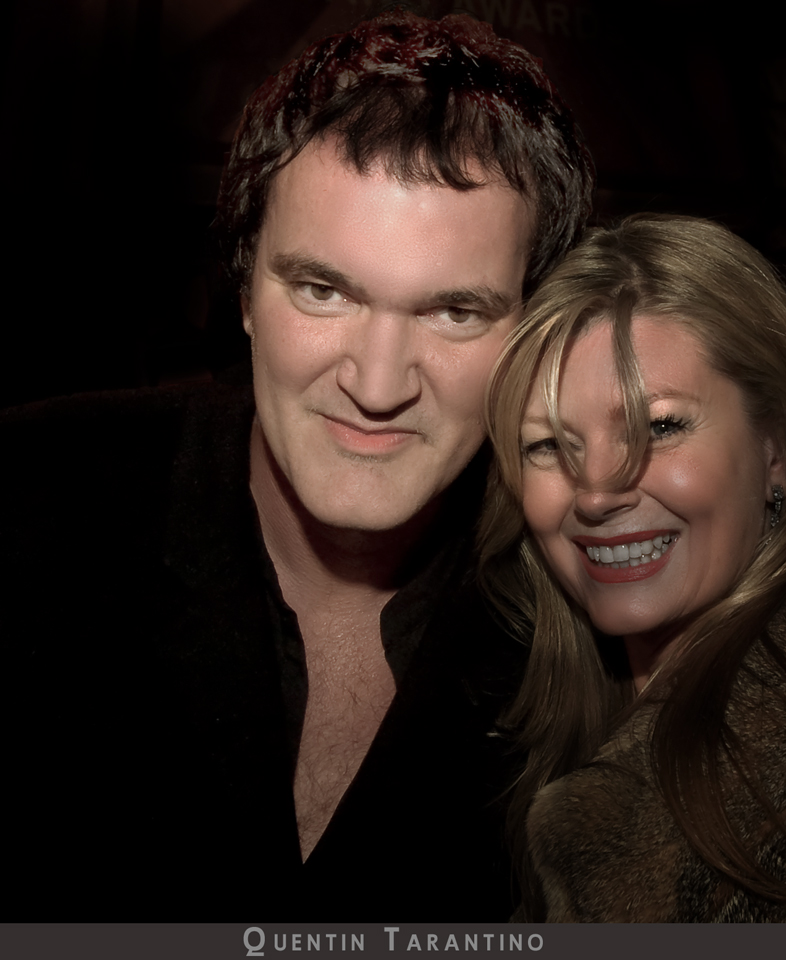 Quentin Tarantino director of Inglourious Basterds