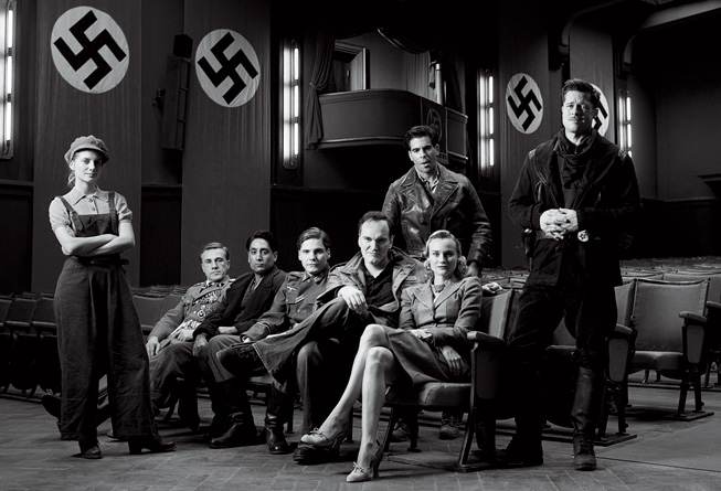 Screenplay, Inglorious Basterds cast