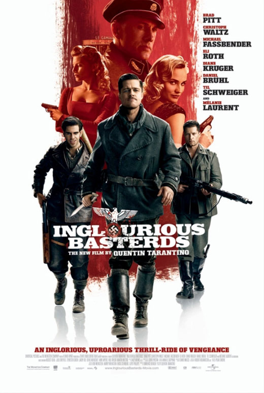 Screenplay, Inglorious Basterds poster Quentin Tarantino