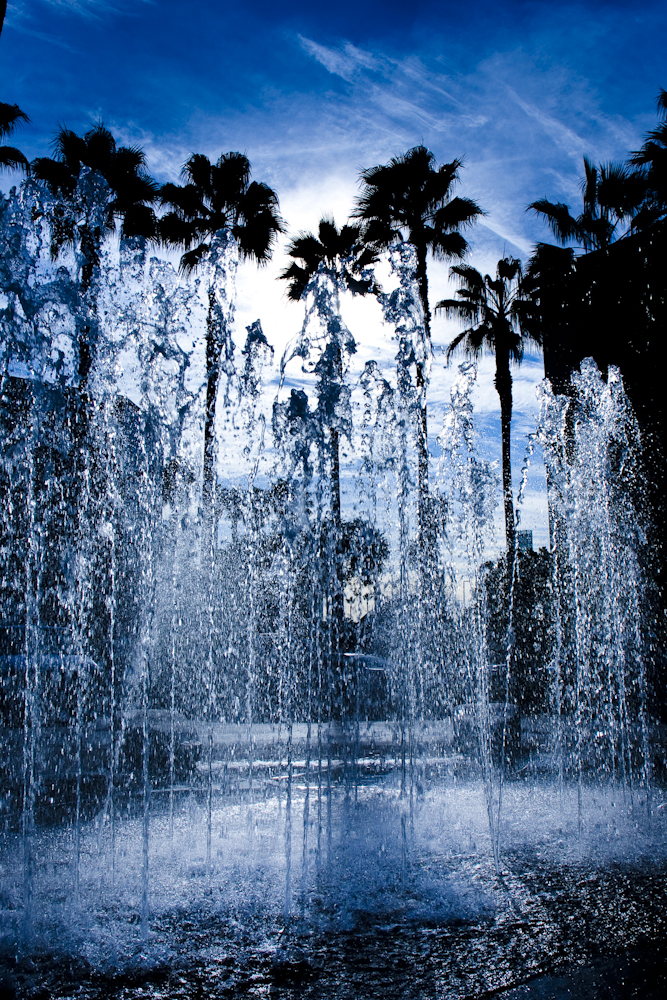 Top ten best Los Angeles fountain photographs shot in LA by corporate photographer Greg Mancuso - 1