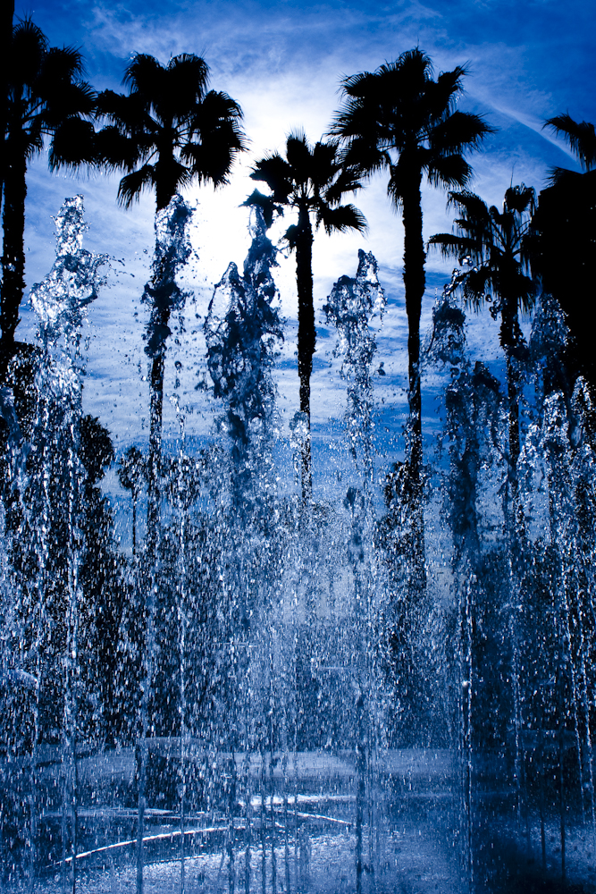 los angeles fountain photo by los angeles photographer