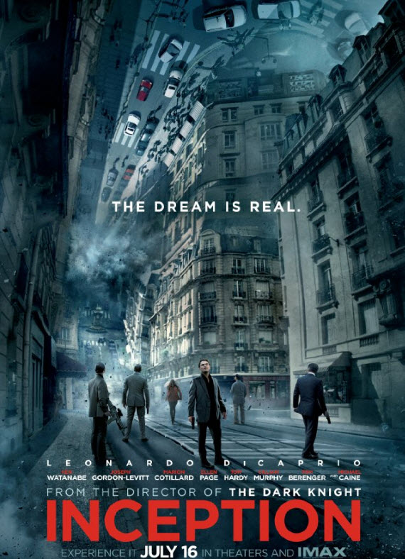 Inception movie poster - Christopher Nolan