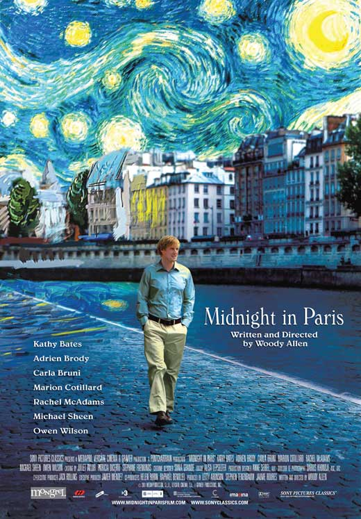 Midnight in Paris - movie poster