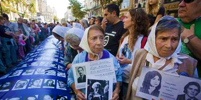 TV miniseries script about geneticist who reunites stolen children with Grandmothers of the Disappeared in Argentina
