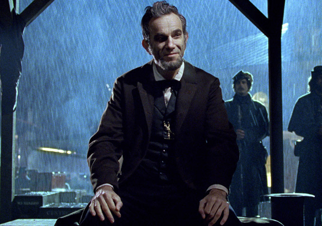 Daniel Day-Lewis in the movie Lincoln