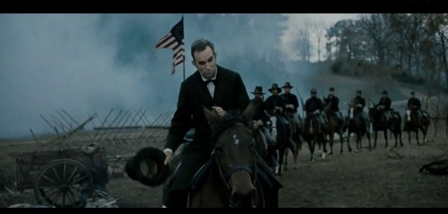 Lincoln the movie still on battlefield