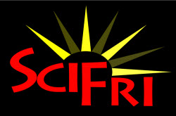 Science Friday podcast logo w sun
