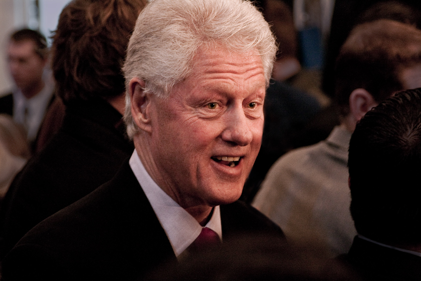 Photo of Bill Clinton at an event was shot by one of the best corporate photographers in Los Angeles