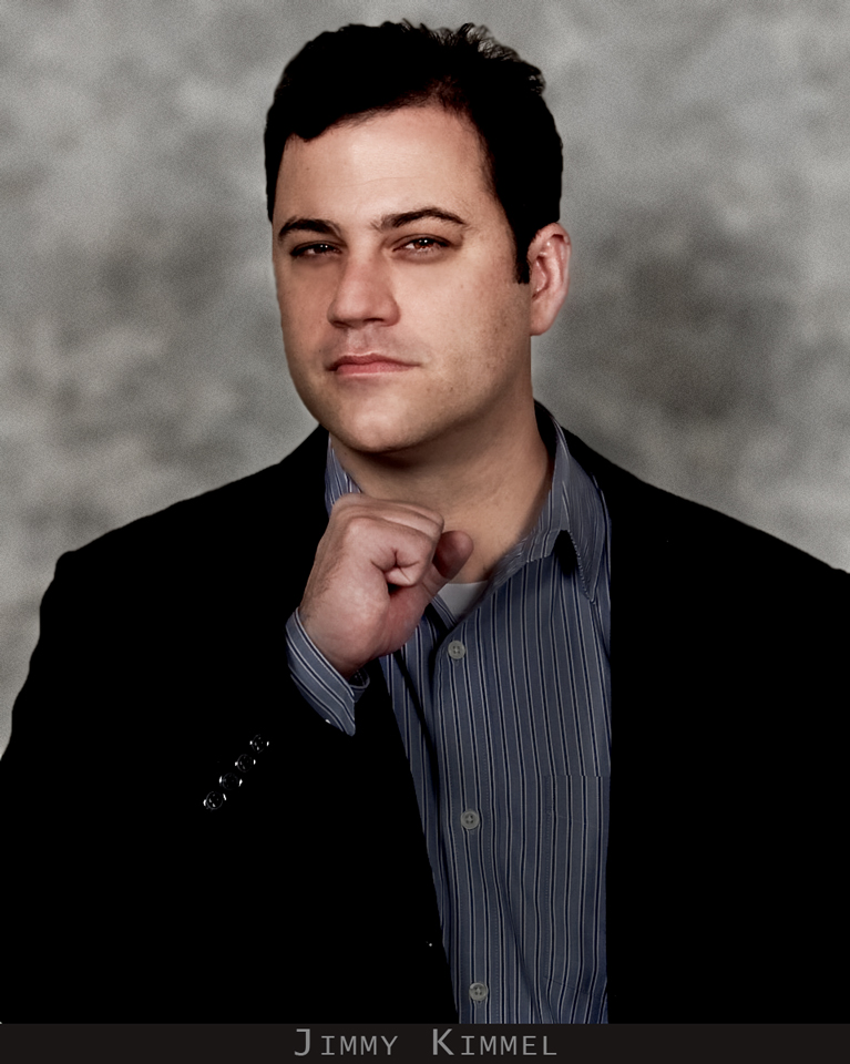 Picture of Jimmy Kimmel taken for corporate client AMA at their annual convention in Los Angeles