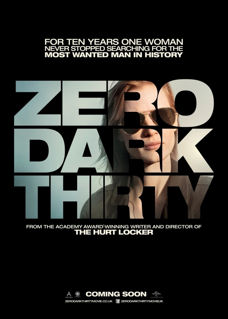 Zero Dark Thirty movie - poster