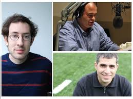 Slate magazine's Hang Up And Listen weekly sports discussion podcast hosts Josh Levin, Stefan Fatsis, Mike Pesca