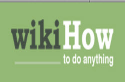review of wikiHow website--a wiki of the world's most helpful how-to guides & useful tips, logo