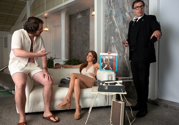 American Hustle movie script, photos, video, Jennifer Lawrence, Christian Bale, David O Russell on set