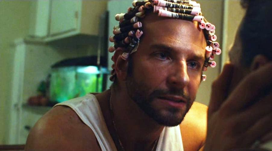 American Hustle movie script, photos, video, production notes, Bradley Cooper