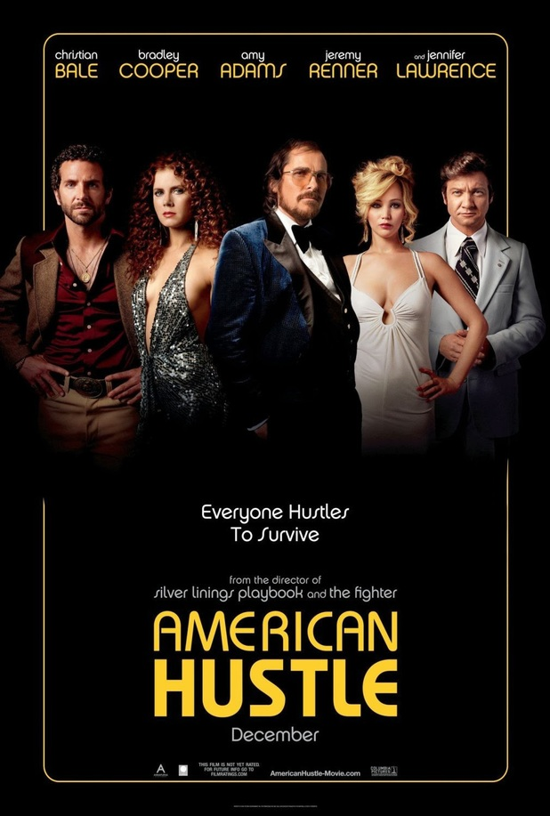 American Hustle movie script, photos, video, production notes, Poster