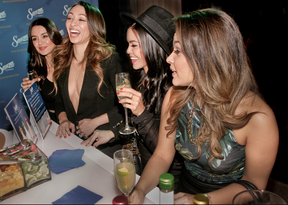 Event-Photography-Los-Angeles-American-Music-Awards-celebrities--The Lylas band drinking at bar shot by-Los-Angeles-event-photographer