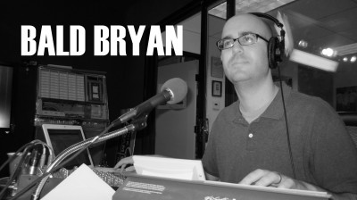 The Adam Carolla Show podcast--crew member, drop specialist Bald Bryan