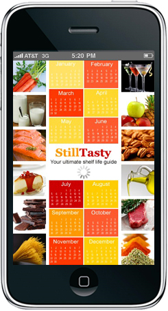 Website StillTasty.com is the ultimate online guide and resource for food shelf life, food storage and handling, and best prep of cooked food - iPhone app