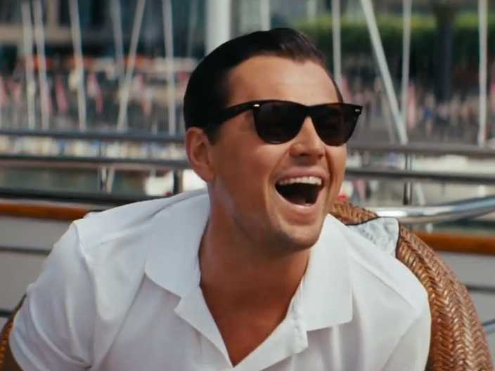 The-Wolf-of-Wall-Street-movie-script-cast-actor-Leonardo-DiCaprio-on-yacht