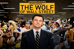 The Wolf of Wall Street movie script, photos, video, production notes, cast, screenwriter - movie poster T