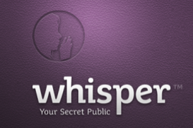 The best iphone and android anonymous apps let social media users speak freely, Whisper app T