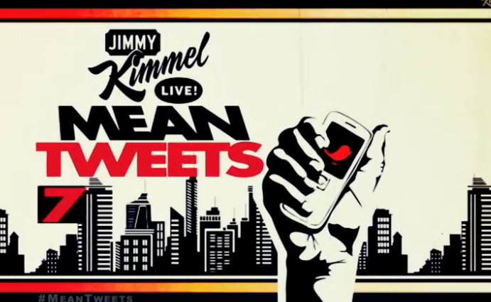 Celebrities Read Mean Tweets on Jimmy Kimmel Live TV show, very funny youtube video clips, all 7 episodes
