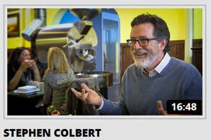Funny Videos- Comedians In Cars Getting Coffee with Stephan Colbert, Jim Carrey, Julia Louis-Dreyfus