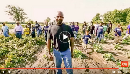 Video | man helps poor community with fresh food