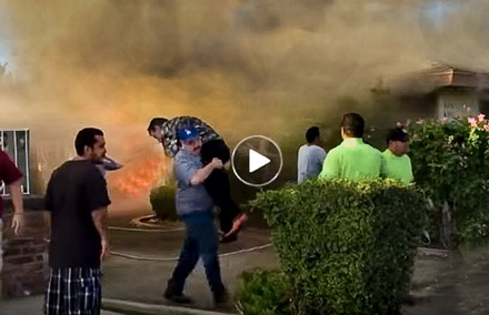 Incredible-acts-of-heroism-by-ordinary-people---stranger-saves-man-trapped-in-home-fire