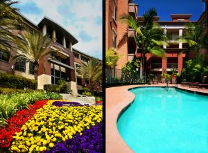 c82-Double-San-Diego-company-building-exterior---front,-flowers---MDR-apartment-complex---pool.jpg
