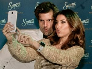 Event-Photography-Los-Angeles-American-Music-Awards-celebrities--Sauza bartender celeb take selfie-photo-by-Los-Angeles-event-photographer.jpg